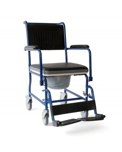 Καρέκλα μπάνιου τροχήλατη WC - κάλυμμα