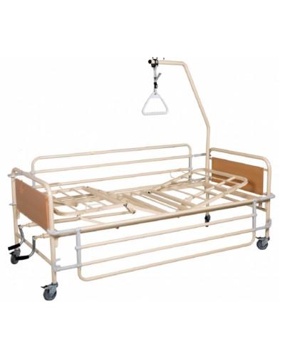 Nοσοκομειακό Χειροκίνητο Κρεβάτι Πολύσπαστο