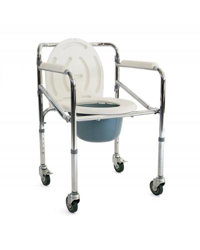 Καρέκλα WC τροχηλατή